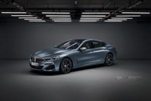 BMW M850 на кованых дисках Beneventi K5-X
