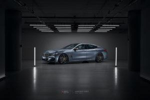BMW M850 на кованых дисках Beneventi K10C