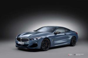 BMW M850 на кованых дисках Beneventi RR10
