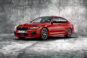 BMW M5 F90 на кованых дисках Beneventi K5S