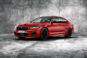 BMW M5 F90 на кованых дисках Beneventi RR10