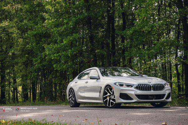 BMW 840 на кованых дисках Beneventi RZR