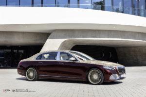 Mercedes-Maybach S-Classe на кованых дисках Beneventi M7-C