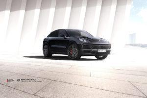 Porsche Cayenne на кованых дисках Beneventi K10-F