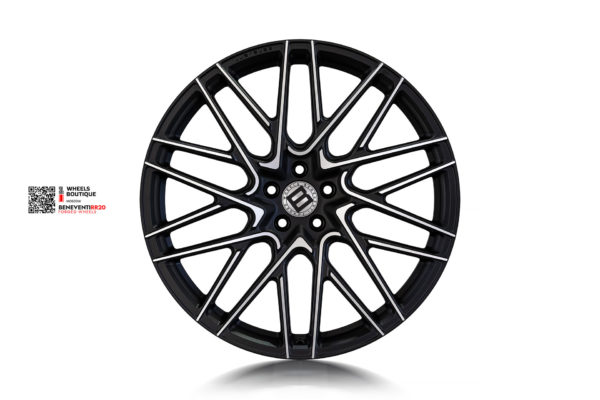 BENEVENTI RR20 для Mercedes GLS 2020 в отделке Черный сатин с алмазной проточкой