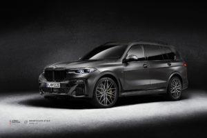 BMW X7 на кованых дисках Beneventi K10-F