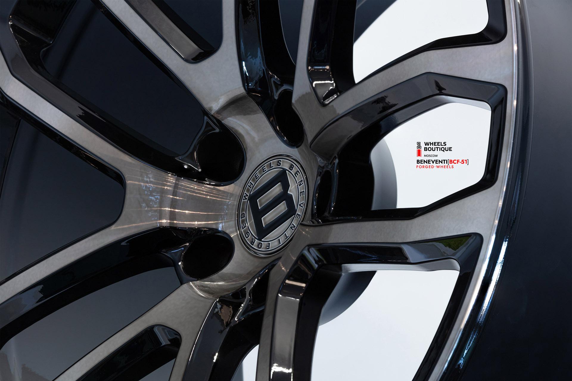 Beneventi Custom Forged - BCF-51 в отделке Shadow Diamond - Темный бриллиант для BMW X6 Widebody