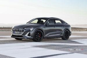 Audi E-TRON на кованых дисках Beneventi K10-F