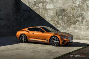 Bentley Continental GT на кованых дисках Beneventi BCF-53S