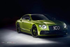 Bentley Continental GT на кованых дисках Beneventi K5-X