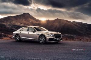 Bentley FLYING-SPUR 2020 на кованых дисках Beneventi CR5