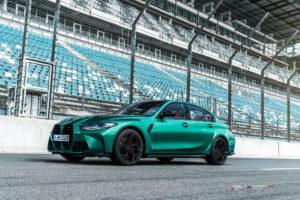 BMW M3 на кованых дисках Beneventi K5-X