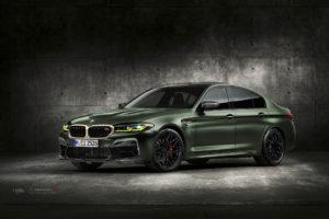 BMW M5 CS F90 на кованых дисках Beneventi RR10