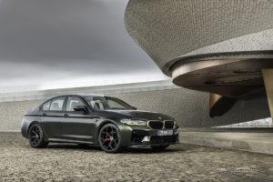 BMW M5 CS F90 на кованых дисках Beneventi K5-X