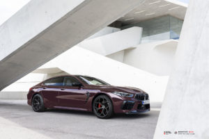 BMW M8 Gran Coupe на кованых дисках Beneventi K5-X