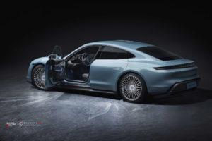 Porsche Taycan на кованых дисках Beneventi M7-C