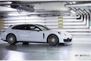 Porsche Panamera на кованых дисках Beneventi M7-C