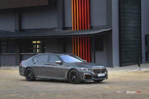 Кованые диски Beneventi K5-X на BMW 7