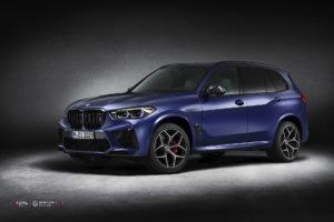 Кованые диски Beneventi CR5 на BMW X5M 2020