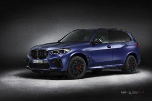 Кованые диски Beneventi K10-C на BMW X5M 2020