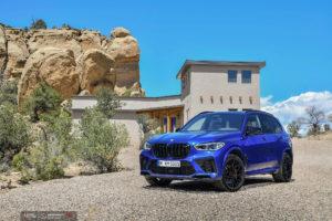 Кованые диски Beneventi RR10 на BMW X5M 2020