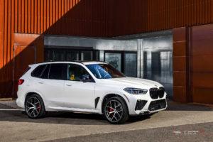 Кованые диски Beneventi K5-V2 на BMW X5M 2020