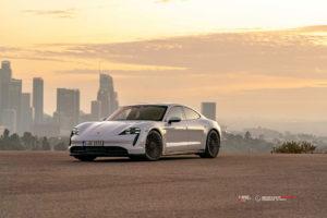 Кованые диски Beneventi M20S-C на Porsche Taycan