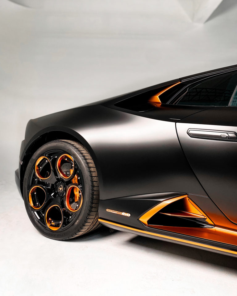 Lamborghini Huracan Evo и кованый моноблок Forged Pro