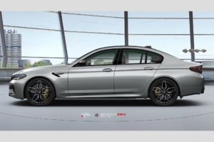 BMW M5 F90 на кованых дисках Beneventi K10C