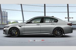 BMW M5 F90 на кованых дисках Beneventi K5-X