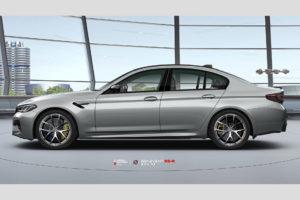 BMW M5 F90 на кованых дисках Beneventi K5R