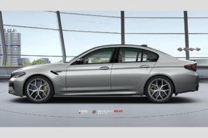 BMW M5 F90 на кованых дисках Beneventi K5V2