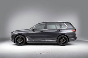 BMW X7 на кованых дисках Beneventi K10C