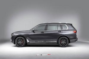BMW X7 на кованых дисках Beneventi K10F
