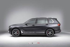 BMW X7 на кованых дисках Beneventi K5V2