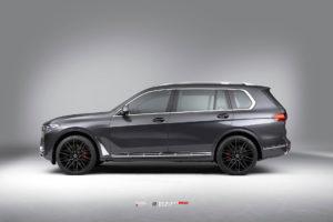 BMW X7 на кованых дисках Beneventi RR20