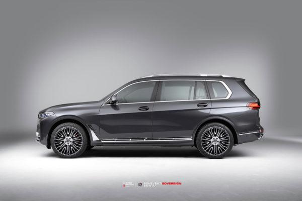 BMW X7 на кованых дисках Beneventi Sovereign