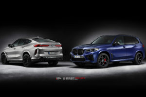Кованые диски Beneventi RR10 & K5-X на BMW X6M & X5M