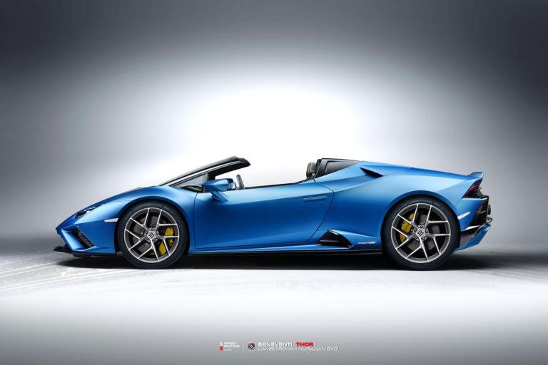 Кованые диски Beneventi THOR на Lamborghini Guracan Evo