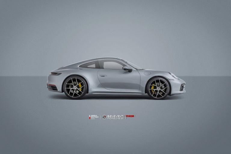 Кованые диски Beneventi THOR на Porsche 911