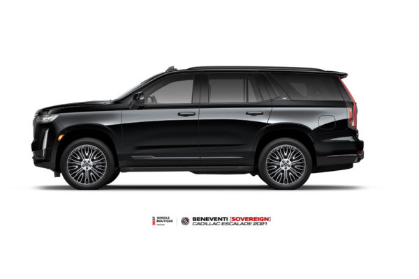 Cadillac Escalade 2021 на кованых дисках Beneventi Sovereign